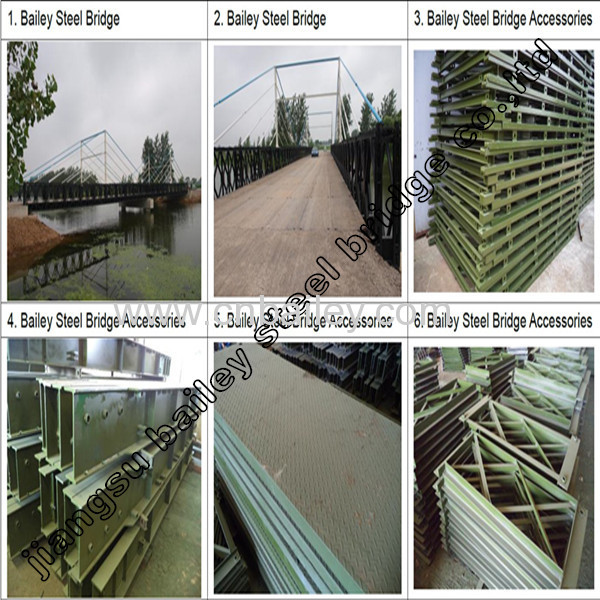 Bailey Steel Bridge Deck CB321 manufacturer from China
