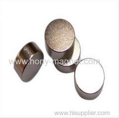 Permanent sintered cylindrical neodymium magnet