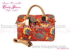 Custom small spring Girls Cross Body Bags with flower print for juniors