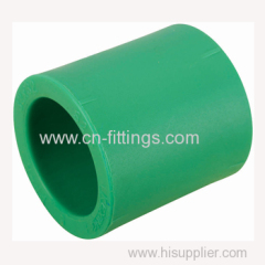 ppr straight coupling pipe fittings