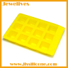 Colorfast silicone smile face ice cube tray