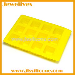 Silicone ice cube tray unbreakable