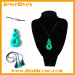 Waterproof silicone fashion pendant baby chewing