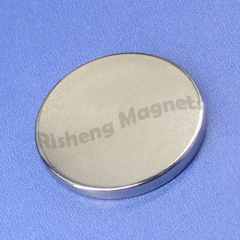 180°C working temperature N30UH neodymium magnet strength magnetic disc D28 x 2.7mm large magnets for sale