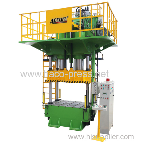 Four column Deep drawing Press machine 800t Four pillar Deep drawing Hydraulic Press 800 tons 8000KN