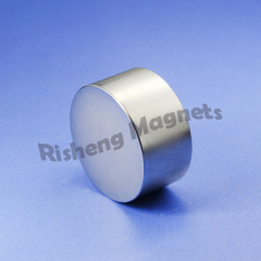 N42 magnet strength D35 x 20mm +/- 0.1mm Super Powerful Disc Rare Earth industrial magnetics