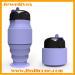 Easy using folding silicone sport bottle