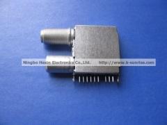 Silicon tuner shell for pcb board