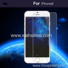 9H hardness 3D round edge tempered glass screen protector for iphone6 and Samsung