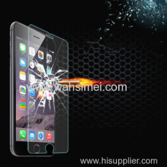 9H hardness 3D round edge tempered glass screen protector for iphone6 Samsung model made in China