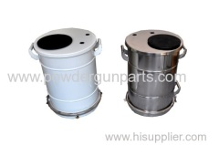 KCI powder coating container