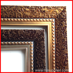 synthetic wood PS frame mouldings for painting frames
