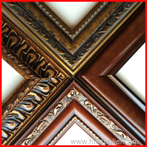 wood like / synthetic wood frame moulding for picture,photos,mirrors ...