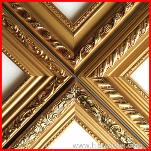 Polystyrene Ps Photo Picture Mirror Frame Mouldings Manufacturer