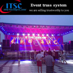 16x16x5m Stage lighting truss flat roof