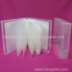 Plastic cd bags with insert paper