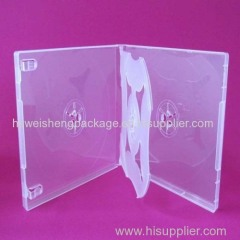 Transparent waterproof pp cd case