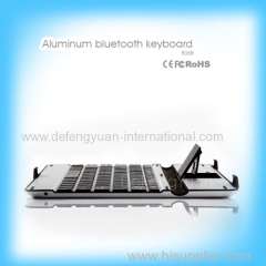 9.7 inches Aluminum bluetooth keyboard for tablet