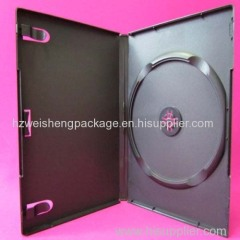 Black single DVD case