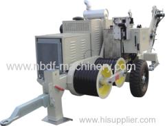Cabrestantes Hidraulico para instalacion de cable