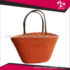 wholesale ladies straw bag