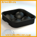 Silicone four ice sphere cooler wines