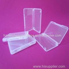 wholesales 11mm plastic transparent bank card case