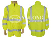 Hot selling fluorescent yellow jacket