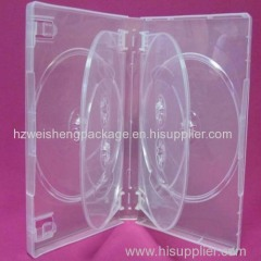 27mm Multi Super Clear 6-DVD Case with 2 Overlap Tays