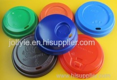 high quality colorful paper cup coffee lids