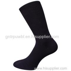 Classic Plain Men's Calf Socks
