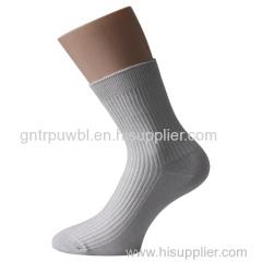 Grey Diabetic Ankle Socks