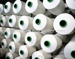 spandex yarn raw white