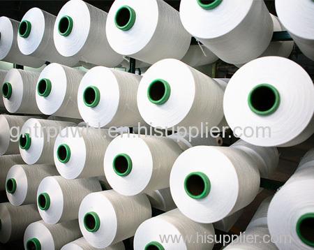 spandex yarn raw white