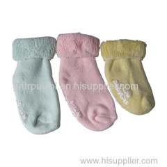 Terry Ankle Baby Socks 3colors