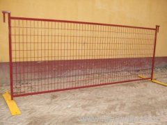 Square Tube Welded Wire Temporary Fence