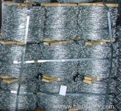 Hot-dipped galvanized Steel Barbed Wire