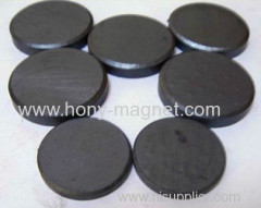Black epoxy coating bonded magnet