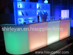 led staight bar furniture