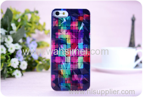 Coloured drawing and pattern diamond model phone cases cover for iphone 6 Samsung China manufacturer