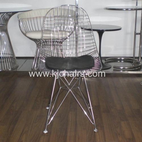 diamond Steel Wire Chair