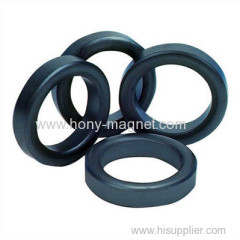 Black diametrically magnetized ring magnets