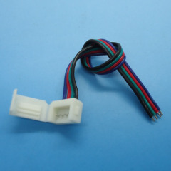 RGB LED Strip connectors Solderless Power waterproof