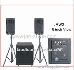 Satellite Active Wooden Speaker System
