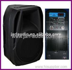 pa stage speaker with usb/sd card/lcd
