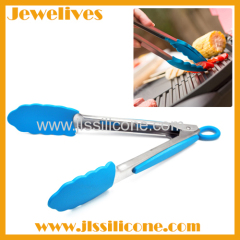 Not toxice silicone tong great kitchen helper