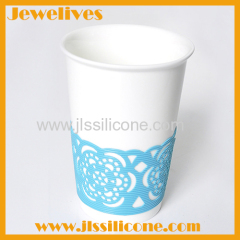 Silicone handmade cup decorate
