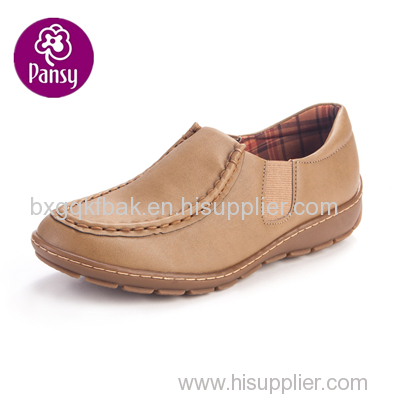 Pansy Comfort Shoes Elastic Design Massage Insole Causal Shoes