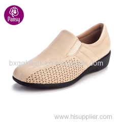 Pansy Comfort Shoes Proper Heel Height Casual Shoes For Ladies