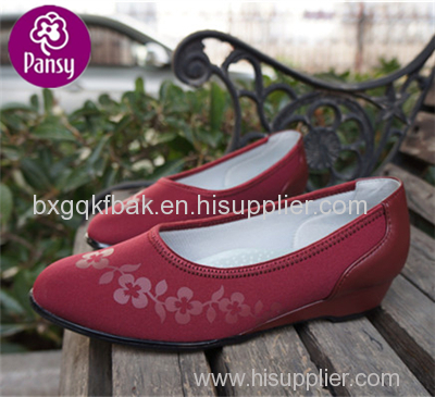 Pansy Comfort Shoes Super Light And Antibacterial Office Shoes